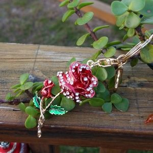 Accessories - Beauty & the Beast  Style Keychain or Purse Charm